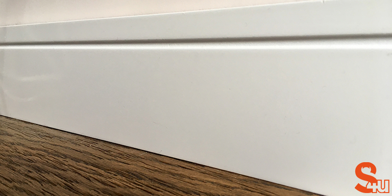 square groove skirting boards modern