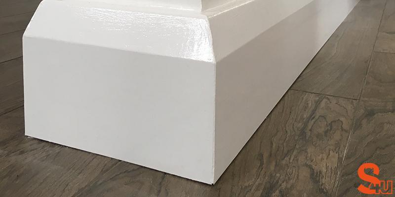 modern skirting boards edge
