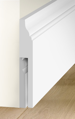 Custom made MDF Skirting Board Covers (skirting over ...