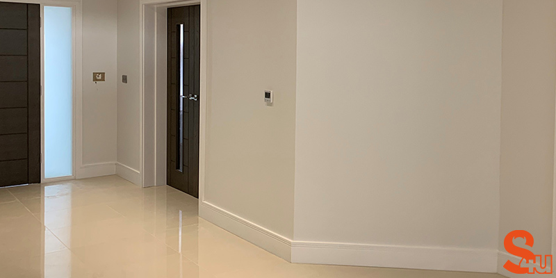 square groove 2 modern skirting