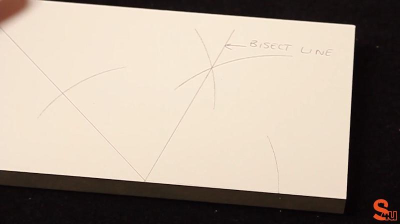 bisect line