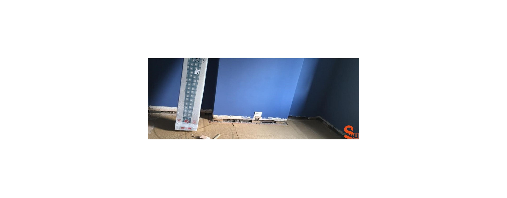 Should I install new skirting boards before, or after, painting my room?