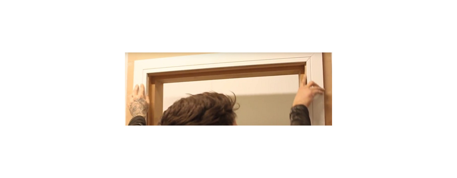 How to Fit Architrave When the Door Is Not Perfectly Square