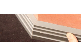 How to Measure and Cut a Skirting Board for an External Wall Joint by Bisecting
