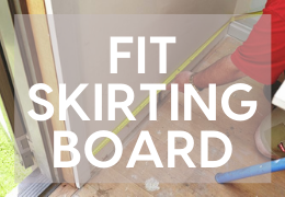 How to Fit a Skirting Board