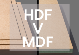 HDF vs MDF
