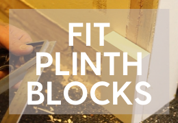 How to Fit Plinth Blocks and Rosettes